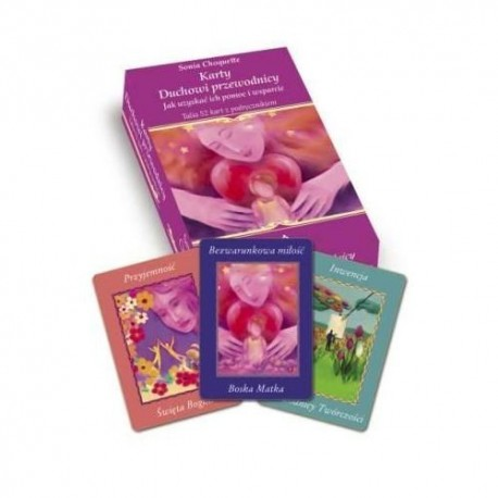DUCHOWI PRZEWODNICY - karty i książka - Sonia Choquette