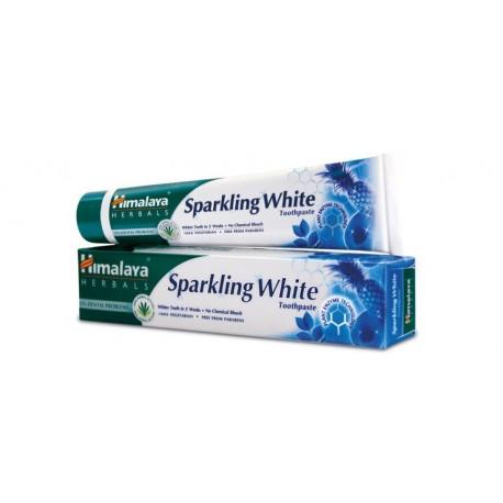 Wybielająca pasta do zębów LŚNIĄCA BIEL Himalaya Herbals 75g Sparkling White