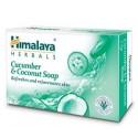 Mydło Odświeżające z Ogórkiem Himalaya Herbals 75g