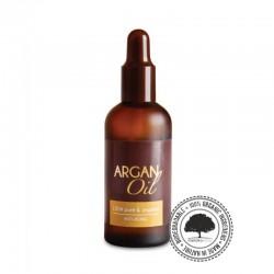 Olej arganowy Bio ECOCERT Z Maroka 100% czysty i naturalny, z pierwszego tłoczenia na zimno 100ml Efas