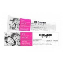 Organiczna pasta do zębów bardzo wrażliwych 100g ORGANIC PEOPLE