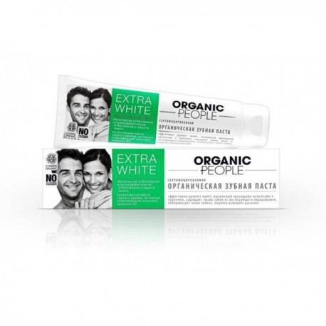 Organiczna pasta do zębów Extra White 100g ORGANIC PEOPLE