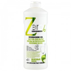 Żel do mycia naczyń na bazie naturalnego octu jabłkowego 500ml ZERO