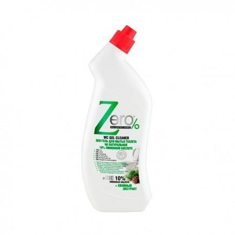 Eko żel do czyszczenia toalet cytrynowo-jodłowy 750ml ZERO
