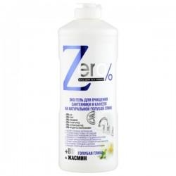 Żel do czyszczenia urządzeń sanitarnych i kafelków na bazie naturalnej niebieskiej gliny 500ml ZERO