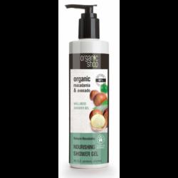 "Żel pod prysznic ""Kenijska macadamia"" 280ml Organic Shop"