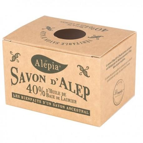 Mydło Alep z Aleppo z olejem laurowym 40% Laurie 190g Alepia