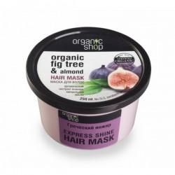 MASKA do każdego rodzaju włosów GRECKIE FIGI i MIGDAŁY 250ml Organic Shop