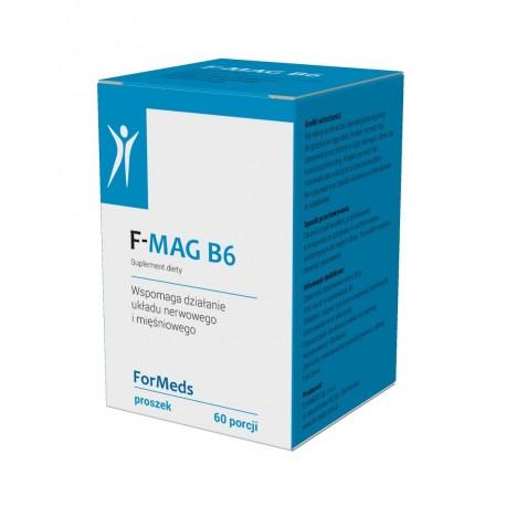 F-MAG B6 (60 porcji) Magnez i Witamina B6