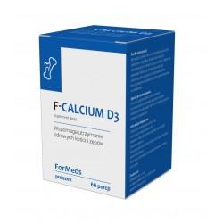 F-CALCIUM D3 (60 porcji) WAPŃ, WITAMINA D3