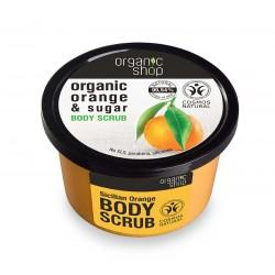 ORGANICZNY SCRUB do ciała SYCYLIJSKA POMARAŃCZA 250ml Organic Shop