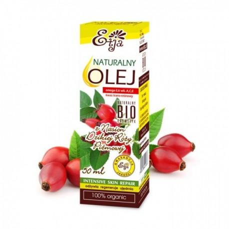 Naturalny olej z Nasion Dzikiej Róży BIO 50ml Etja