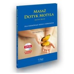 MASAŻ DOTYK MOTYLA dr Evy Reich (DVD+książka) - Richard C. Overly