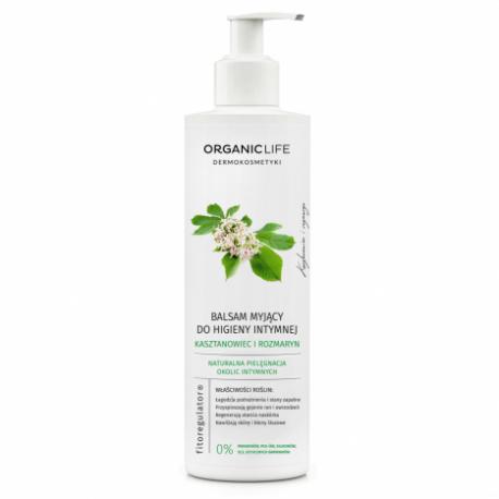 Balsam myjący do higieny intymnej KASZTANOWIEC i ROZMARYN 250g Organic Life