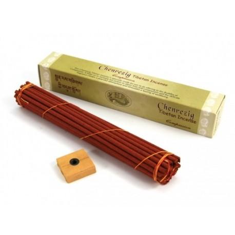 Kadzidła tybetańskie CHENRESIG Incense długie Czenresig Incense
