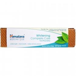 BOTANICZNA Pasta do zębów wybielająca MIĘTA PIEPRZOWA 150g Himalaya BOTANIQUE