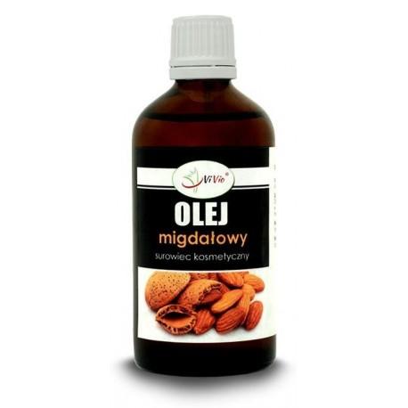 Olej ze słodkich migdałów 50ml surowiec kosmetyczny Olej migdałowy