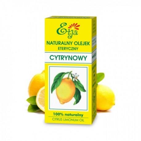Naturalny Olejek eteryczny Cytrynowy 10ml Etja
