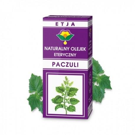 Naturalny olejek eteryczny Paczulowy PACZULI 10ml Etja
