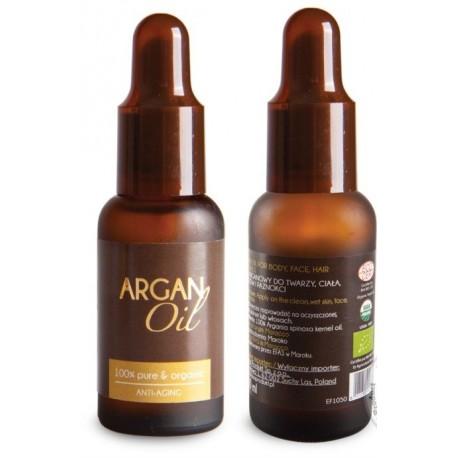 Olej Arganowy BIO z certyfikatem biologicznym ECOCERT 30ml