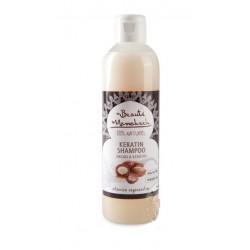 Intensywnie REGENERUJĄCY szampon ARGANOWY z KERATYNĄ 250ml BEAUTE MARRAKECH