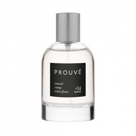 Perfum męski nr 34 wodorosty – pomarańcza – kwiat bawełny