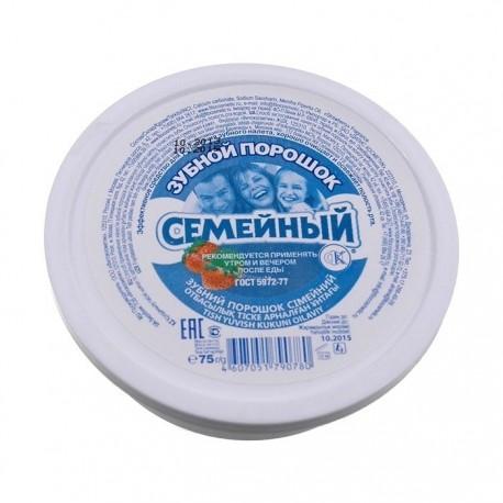 Proszek do czyszczenia zębów RODZINNY 75g FITOKOSMETIK