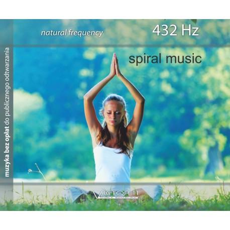 Spiral music - Częstotliwość 432 Hz Natural frequency