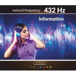 Information - Częstotliwość 432 Hz Natural frequency