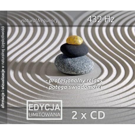 Profesjonalny relaks i Potęga Świadomości - Częstotliwość 432 Hz Natural frequency