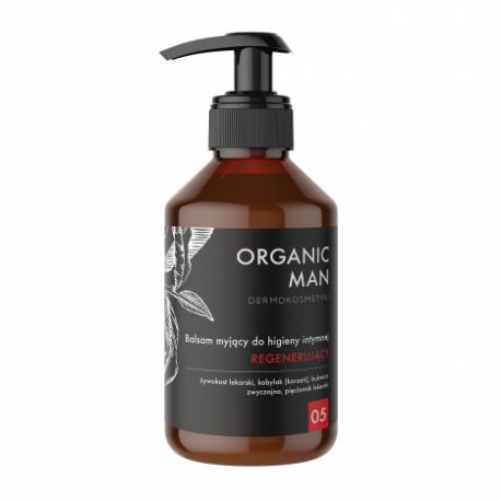 Balsam myjący do higieny intymnej regenerujący Organic Man 250g ORGANIC LIFE