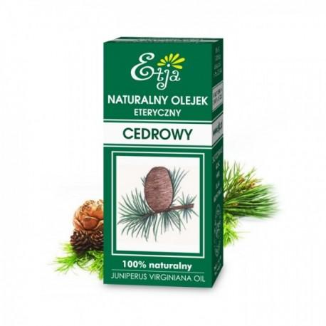 Naturalny olejek eteryczny Cedrowy 10ml Etja
