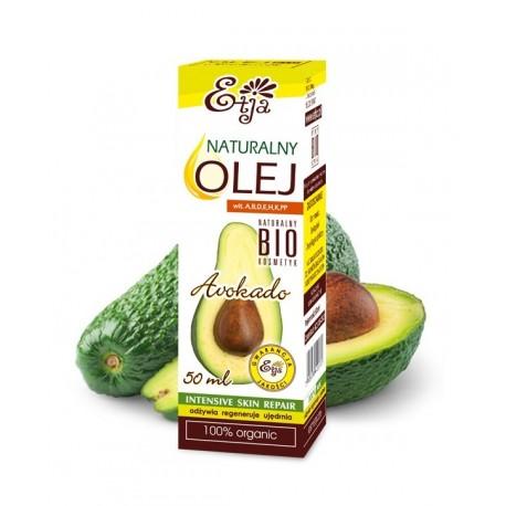 NATURALNY Olej Awokado BIO ORGANIC 50ml Avocado