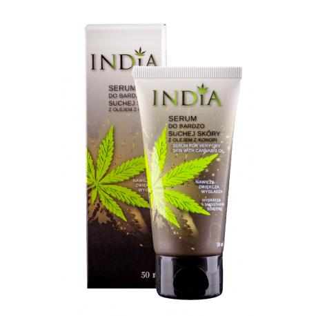 SERUM do BARDZO SUCHEJ SKÓRY twarzy i dłoni 50ml India Cosmetics
