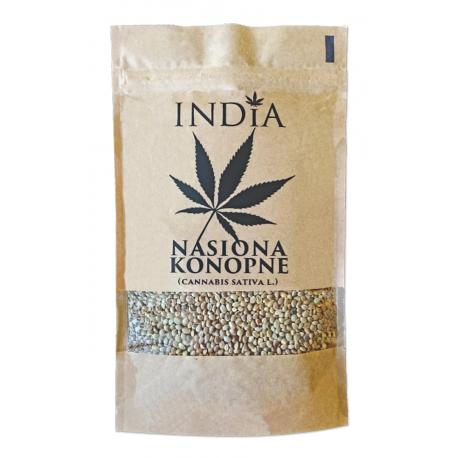 Nasiona Konopi łuskane 250g India Cosmetics