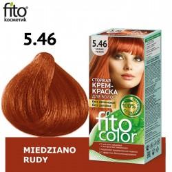 Farba do włosów 5.46 MIEDZIANO RUDY - FITO COLOR