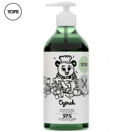 Naturalny płyn do mycia naczyń OGÓREK 750ml YOPE
