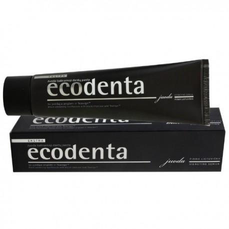 Pasta do zębów EXTRA BLACK WYBIELAJĄCA z węglem drzewnym i TEAVIGO 100ml ECODENTA