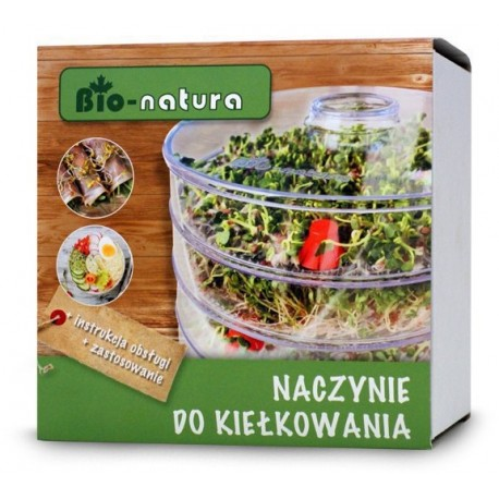 Naczynie do kiełkowania - kiełkownica Bio-Natura