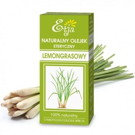 Naturalny olejek eteryczny LEMONGRASOWY 10ml Etja