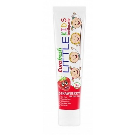 Pasta do zębów dla dzieci o smaku truskawkowym 50g Farmasi