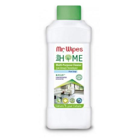 SKONCENTROWANY ŚRODEK CZYSZCZĄCY DO RÓŻNYCH POWIERZCHNI o zapachu CZYSTEGO MYDŁA 500ml MR. WIPES Farmasi