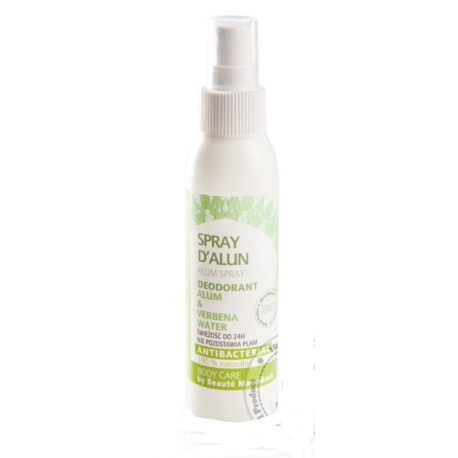 Dezodorant naturalny ałunowy WERBENA spray 100 ml BEAUTE MARRAKECH