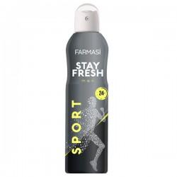 Dezodorant dla mężczyzn STAY FRESH SPORT 150ml Farmasi