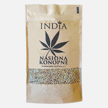NASIONA KONOPNE 250g India Cosmetics