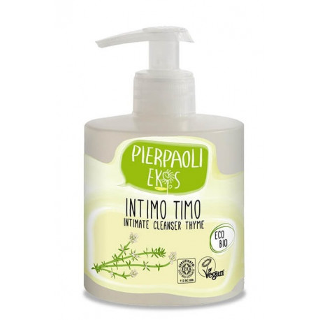 Płyn do higieny intymnej z ekstraktem z ORGANICZNEGO TYMIANKU 350ml PIERPAOLI EKOS PERSONAL CARE