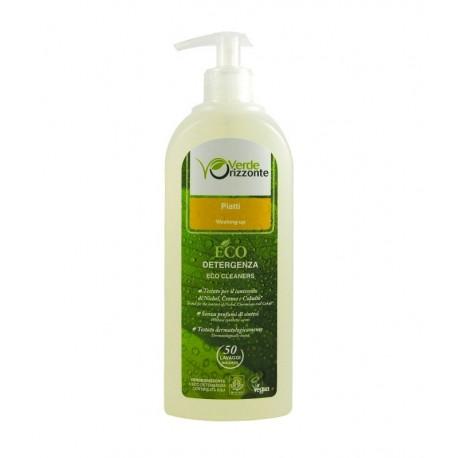 Ekologiczny VEGAN PŁYN do mycia NACZYŃ POMARAŃCZOWY 500ml VERDE ORIZZONTE