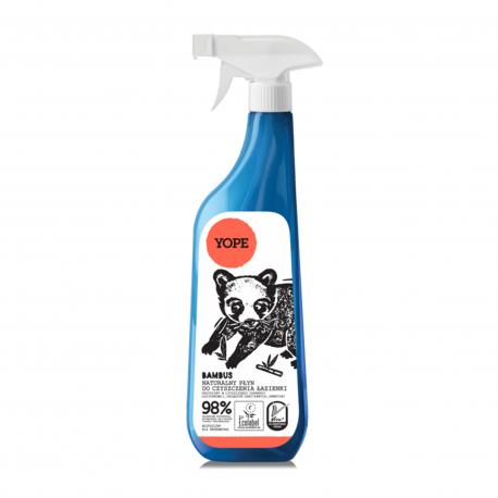 Naturalny płyn do czyszczenia łazienki BAMBUS 750ml YOPE