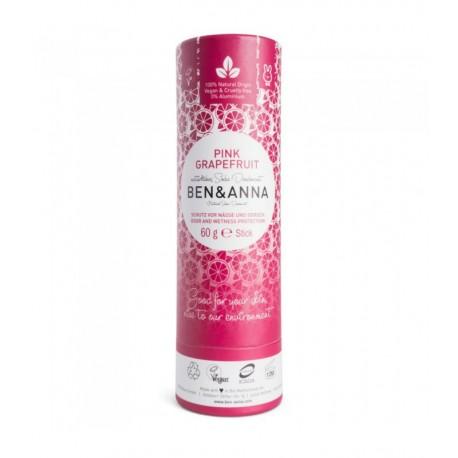 Dezodorant w sztyfcie PINK GRAPEFRUIT bez aluminium 60g BEN&ANNA
