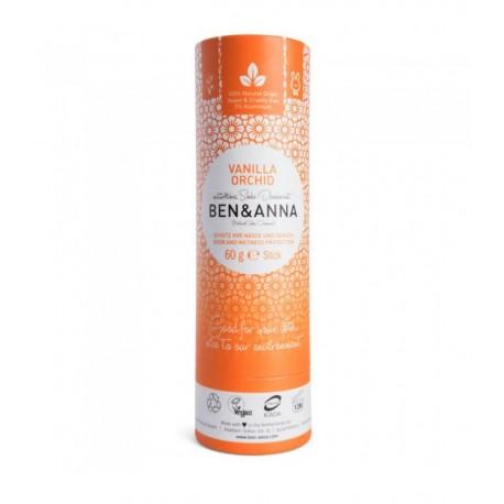 Dezodorant w sztyfcie VANILLA ORCHID bez aluminium 60g BEN&ANNA